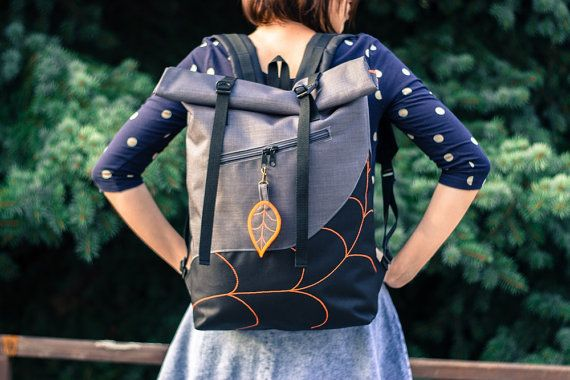 A sturdy and practical backpack/rucksack for every laptop users and cyclist.  The inner sleeve for laptop storage is padded and fits a 15 laptop .