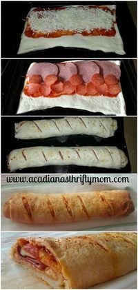 Super Easy Stromboli  Easy Stromboli. Good and easy, like the recipe says. Only change was to brush the tops with egg and Italian seasoning instead of the dressing. Next time, I'll use more cheese, though. The post Super Easy Stromboli appeared first on Woman Casual.