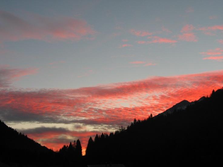 Romantic sunset #andalo #trentino