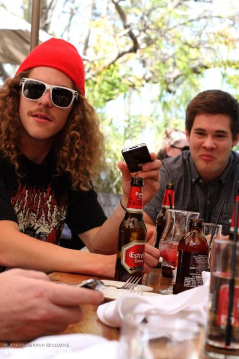 Blake Anderson and Adam Devine