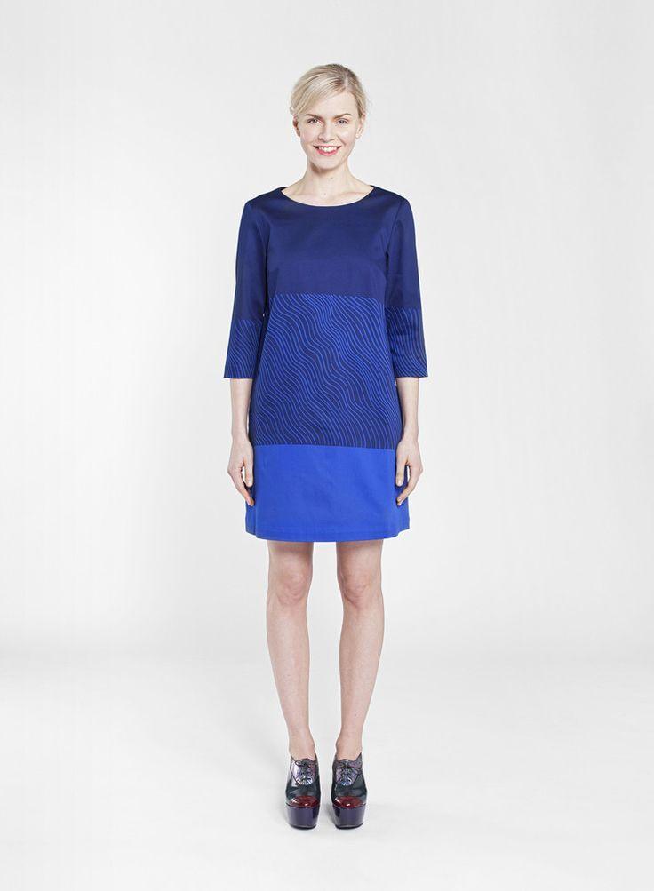 GEDDA MARIMEKKO DRESS BLUE 550