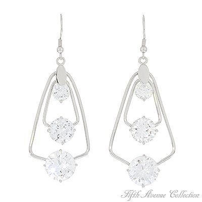 Woman's Earrings Lady Luxe- Fifth Avenue Collection