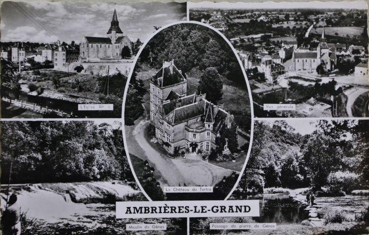 Le château du Tertre est un élément de patrimoine notable d'Ambrières Les Vallées , anciennement Ambrières le Grand