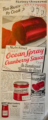 HISTORY: Preserved, Day 15- Ocean Spray Cranberry Ad