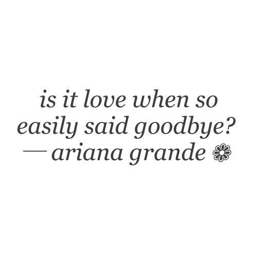 ariana grande, lyrics, dangerous love, leave me lonely