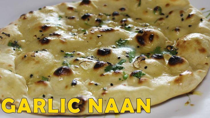 Knoblauch Naan | Hausgemachtes Naan ohne Hefe & Tandoor oder Ofen | Easy & Quick Naan …