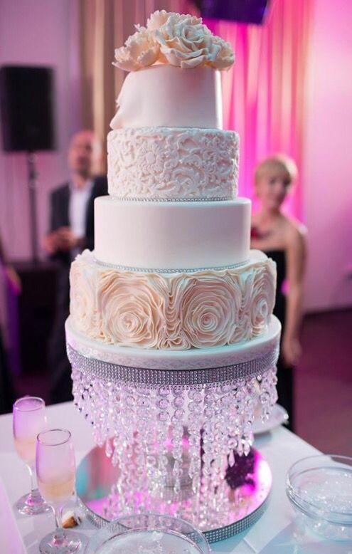 Wedding cake Cofetaria Aladdin Ivory Elegant