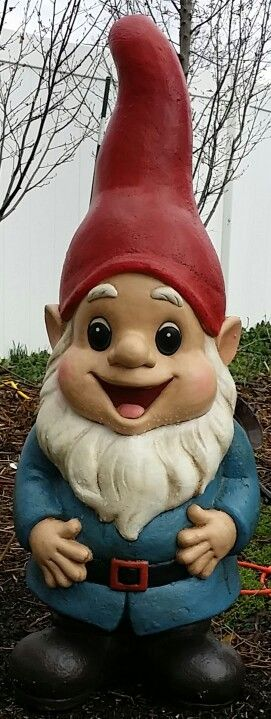 Our New 3ft Gnome.