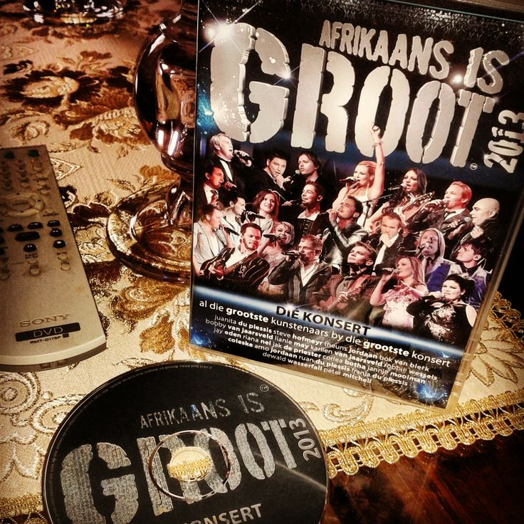 One of the best Afrikaans music concerts I have seen to date. Afrikaans is Groot 2013