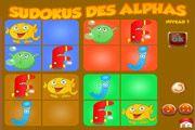 Sudoku des alphas