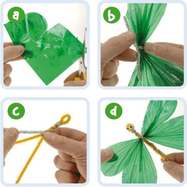 Dragonflies | Craft Ideas at Patticrafts