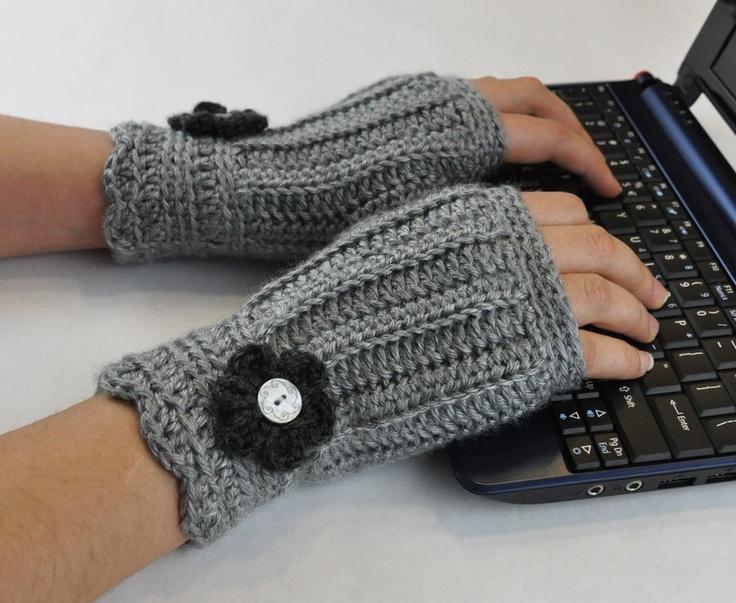 Fingerless Glove Wrist Warmer: Wrist Warmers So, Fingerless Gloves, So Cute, Red Flowers, 21 00, Gloves Wrist, Wrist Warmers I, Miton, Crafts