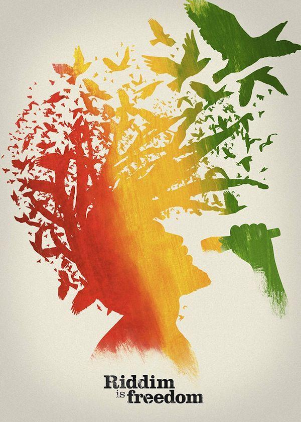 Reggae Poster Festival, poster de Rosario Nocera.