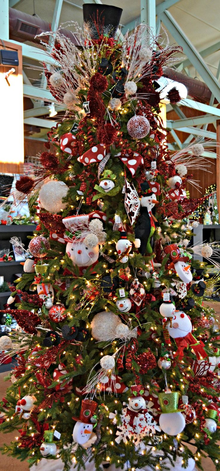 116 best Christmas TreesSnowmen images on Pinterest  Snowmen
