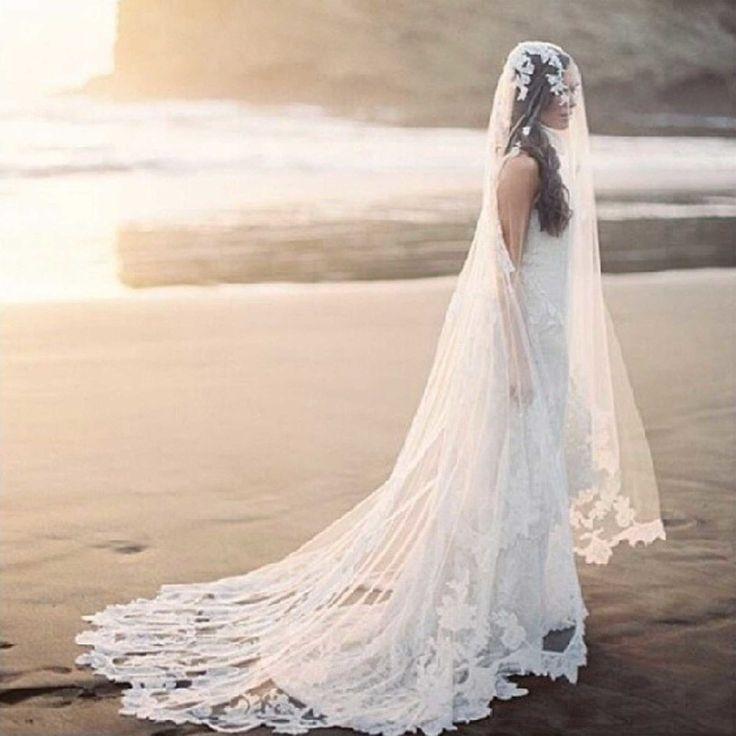36 splendidi veli da sposa che ti lasceranno senza parole -cosmopolitan.it