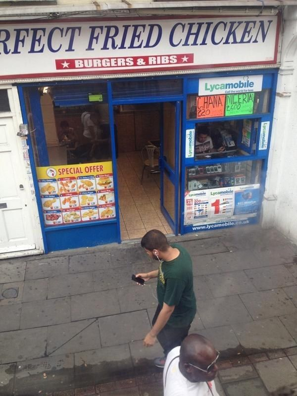 A chicken/phone shop for all you could ever want. | 31 Pictures That Sum Up London