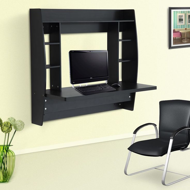 Floating Wall Mounted Desk Home Office Bedroom Computer Table Furniture Storage in Home, Furniture & DIY, Furniture, Desks & Computer Furniture | eBay