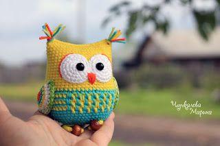 Вязаные чудеса Марины Чучкаловой : The Owl Rattle Pattern