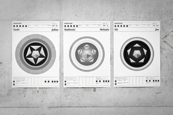 DESCRYPTOR – System zur Erfassung und Visualisierung von Persönlichkeitsmerkmalen | Slanted - Typo Weblog und Magazin