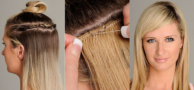 safe hair extensions for fine hair image collections - hair