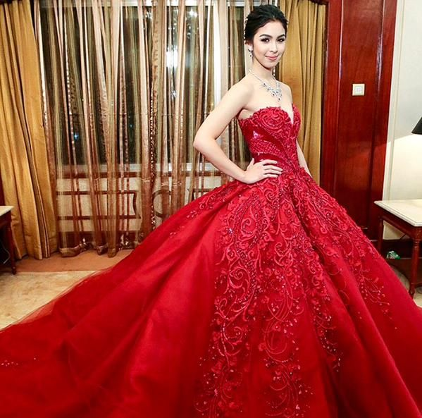 Most Beautiful Ball Gown Wedding Dresses: 102 Best Images About Julia Barretto On Pinterest