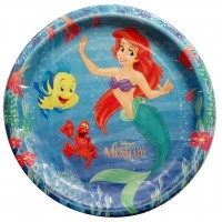 Little Mermaid and Friends Large Paper Plates from .HardToFindPartySupplies.com  sc 1 st  Pinterest & 44 best Little Mermaid Birthday Party Ideas Decorations and ...