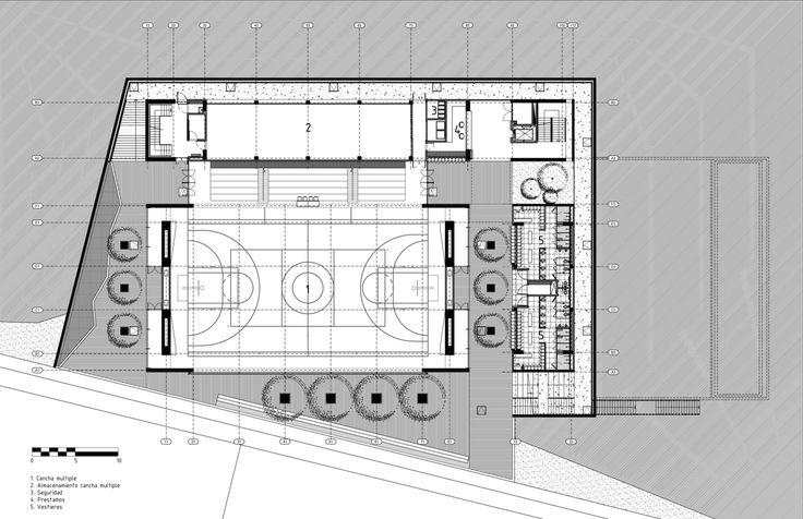 Galería de Centro Deportivo Universidad de los Andes / MGP Arquitectura y Urbanismo - 31