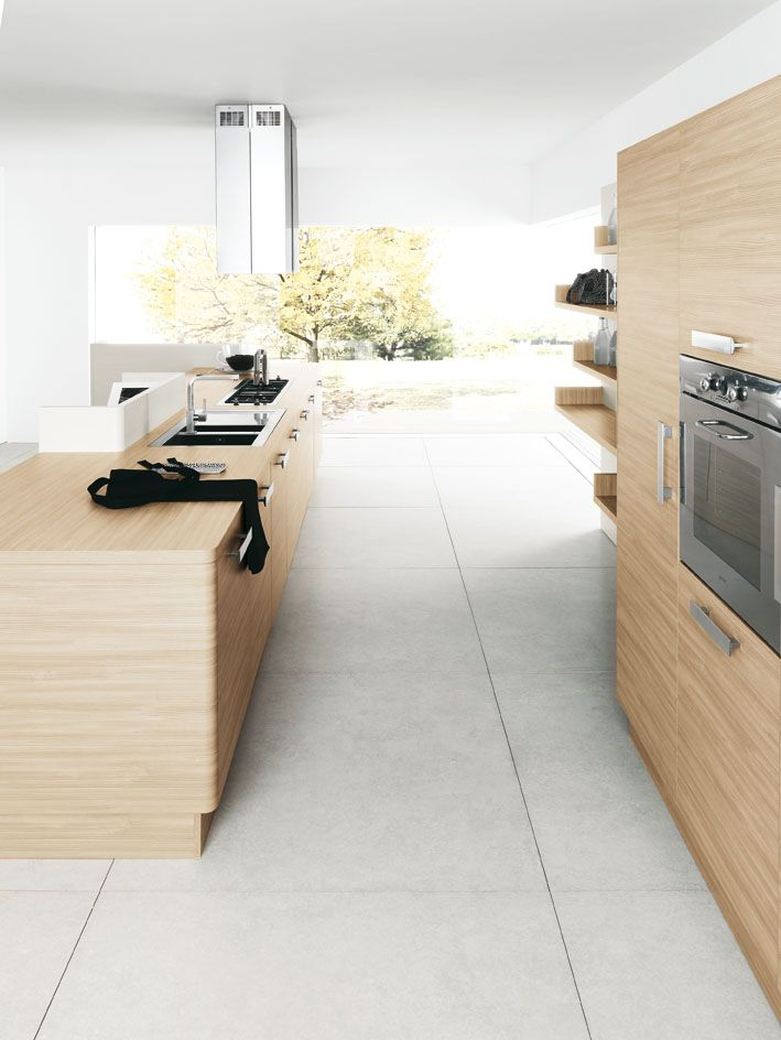 Fitted Kitchen MEG By Cesar Arredamenti Design Gian Vittorio Plazzogna