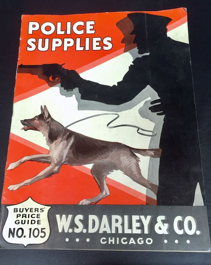 1935 W. S. DARLEY & Co Police Supplies Catalog Vtg 30's 40's Officer Cop Badge FOR SALE • $149.00 • See Photos! Money Back Guarantee. Wonderful W. S. Darley police supplies catalog from the mid-1930s. Features 35 pages of guns, uniforms & caps, badges, crowd-control tools, and even a build-it-yourself jail cell! Measures 11 1/2 112267714717