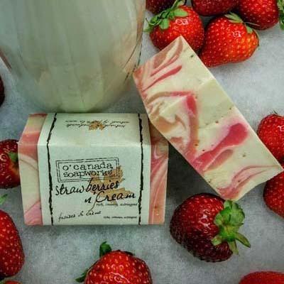 Strawberries & Cream Soap Bar