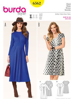 23 best Kjoler images on Pinterest | Sewing patterns, Sewing ideas ...