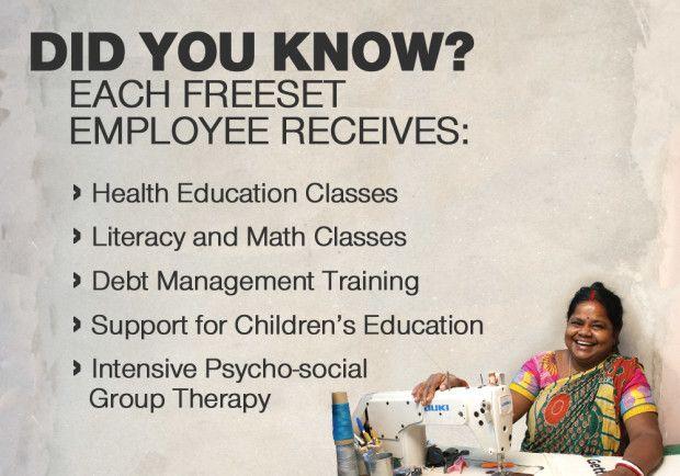 Freeset: Freedom Starts Here | Indiegogo