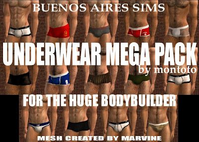 Male-Order Bride: Montoto_sk: Huge BB Underwear Mega Pack