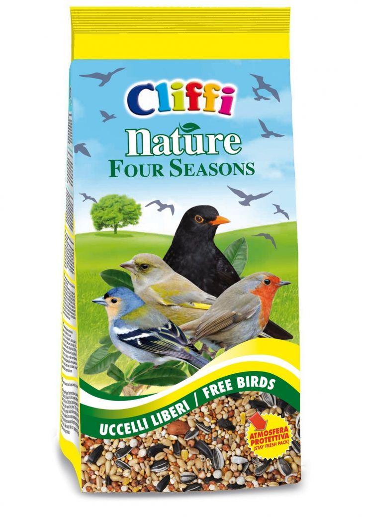 #CLIFFI Nature Four Season per #Uccelli liberi - For garden #birds