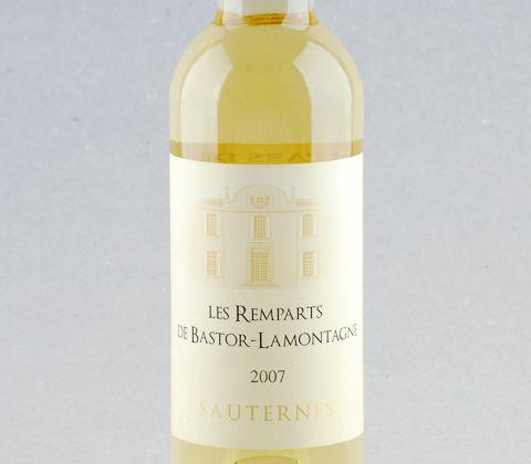 Sauternes Les Remparts de Bastor-Lamontagne #vinho #semillion #sauternes #bordeaux #franca #vinhodoce #desconto #promocao