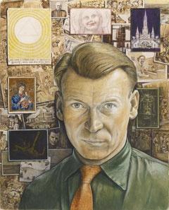 Canadian Modern Art - Self Portrait - William Kurelek