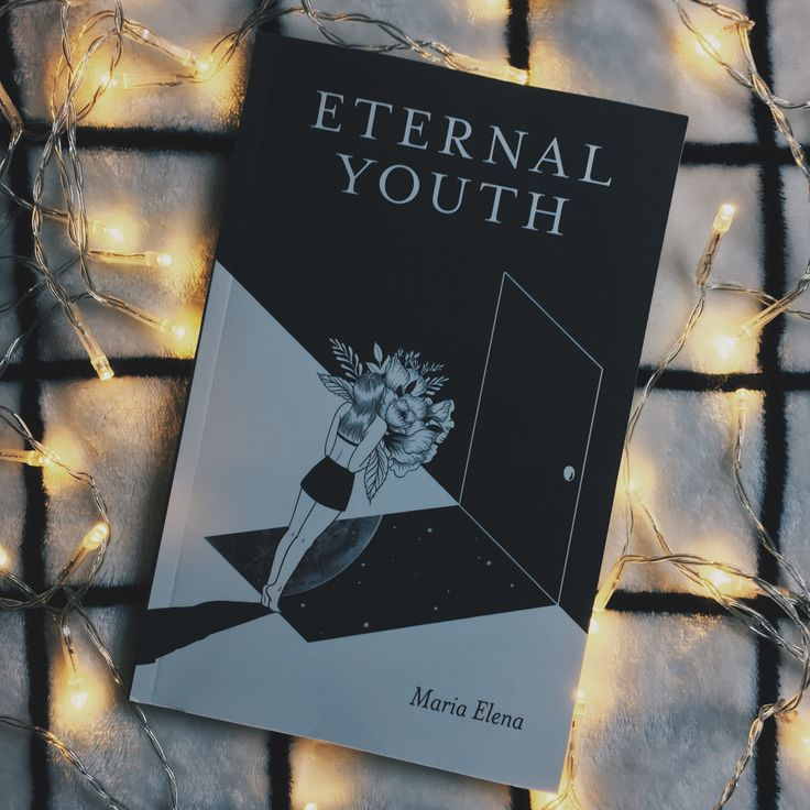 I am in love with Eternal Youth by Maria Elena! Eternal Youth is a coming-of-age collection of poetry, prose, and words written over the course of a decade. Go check out Eternal Youth on Amazon at