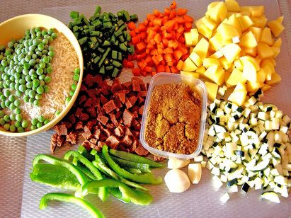 Prep Once, Eat for a Week:  10 Meals for $50- I'm going to do this but will modify it to make it into more of veggie/pescatarian type deal with tofu and fish!  :)