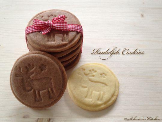 Rudolph Cookies (super Teig für Keksstempel) (schnin's kitchen)