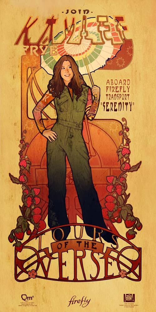 Kaylee from Firefly, what a wonderfully strong and brainy female character. Whedon knows how to write them.