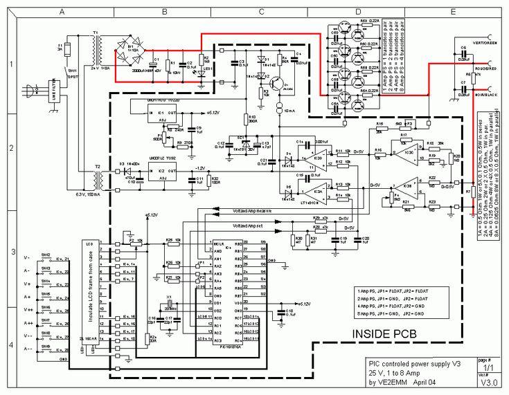 0-24VDC Digital PIC Power Supply (Görüntüler ile