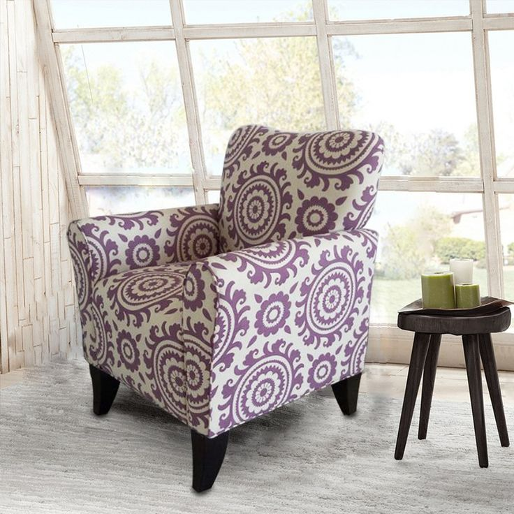Purple Kitchen Chairs: 17 Best Ideas About Accent Chairs On Pinterest