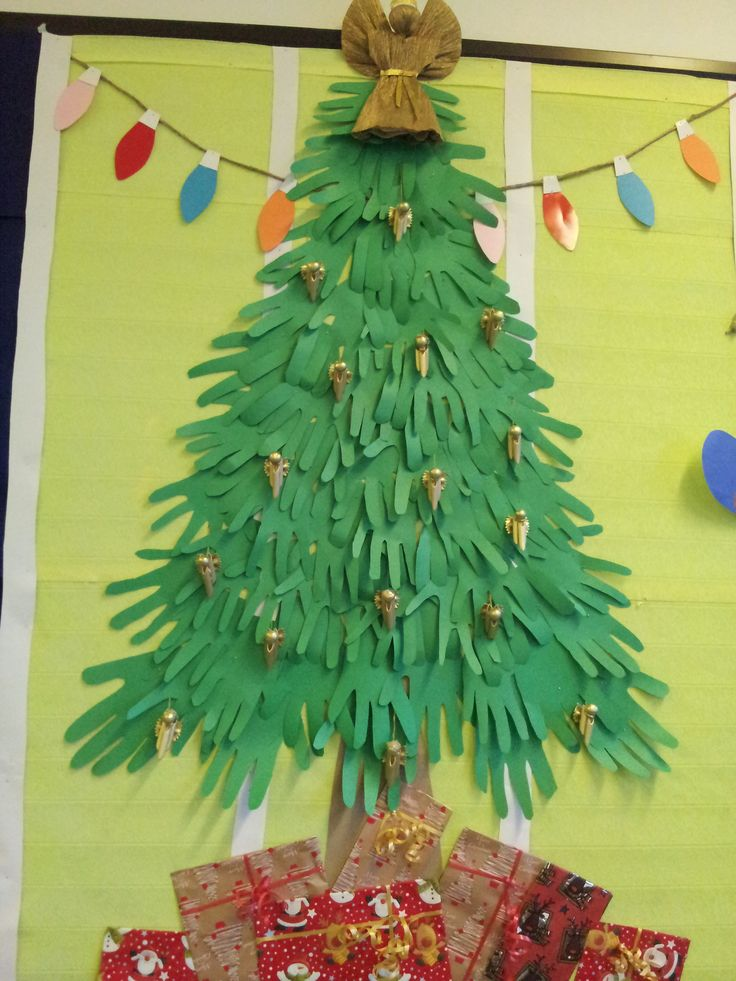 paper tree bulletin board and door decoration