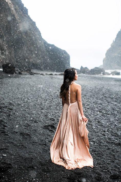 Iceland Black Beach :: Blush love