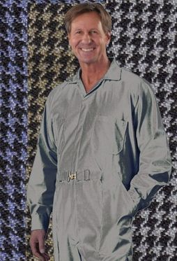 Bringing back a Classic Favorite, The Houndstooth Check!  You can wear this STRETCH Fabric comfortably year 'round. Not only will you like the way it feels, but it looks great, as well. A very subtle pattern gives it a classy look.  Raglan Sleeve. Made of 100% Stretch Polyester. It will wash and dry beautifully.