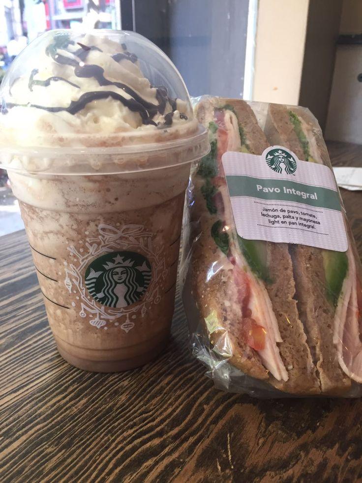 Cookie and cream y Pavo Integral. Starbuck- Santiago