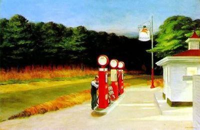 Edward Hopper, Gas (1939)