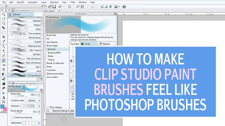 You can make brushes in Clip Studio Paint that feel like Photoshop's basic hard and soft round brush. How to make these brushes is what I show you in this video. #ClipStudioPaint #MangaStudio #ClipStudioPaintTutorial
