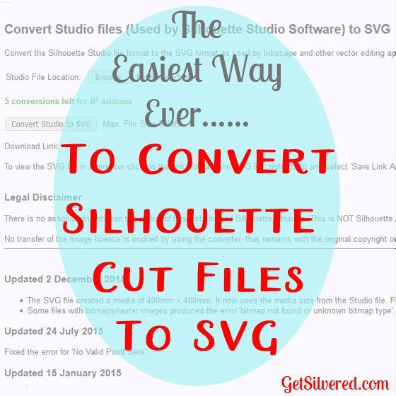 Convert Silhouette Studio files to SVG Files the easy way