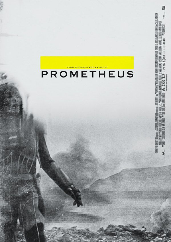 Prometheus Concept Poster by Midnight Marauder